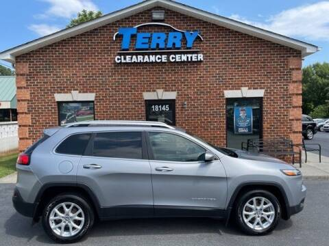 2014 Jeep Cherokee for sale at Terry Clearance Center in Lynchburg VA