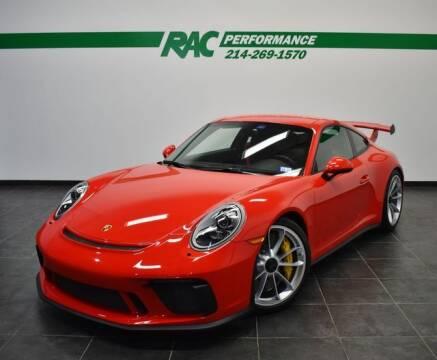 2018 Porsche 911 for sale at RAC Performance in Carrollton TX