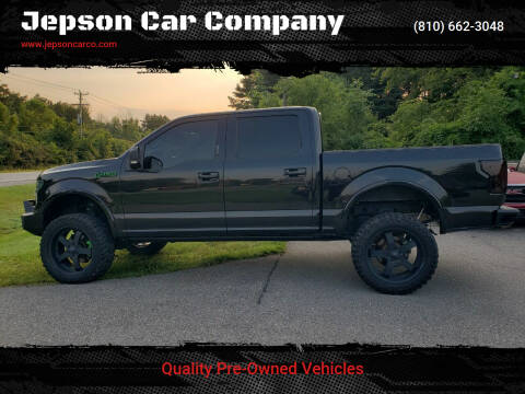 2015 Ford F-150 for sale at Jepson Car Company in Saint Clair MI