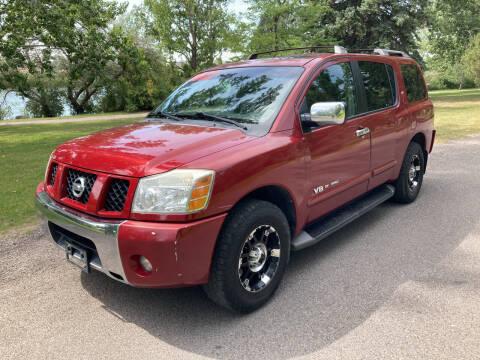 2006 Nissan Armada for sale at BELOW BOOK AUTO SALES in Idaho Falls ID