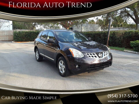 2013 Nissan Rogue for sale at Florida Auto Trend in Plantation FL