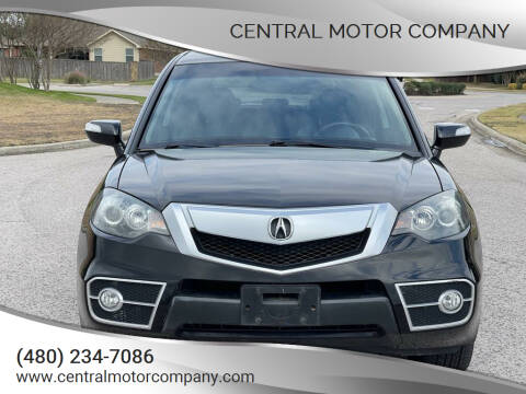2010 Acura RDX for sale at Central Motor Company in Austin TX