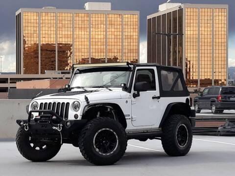 2012 Jeep Wrangler for sale at Pammi Motors in Glendale CO