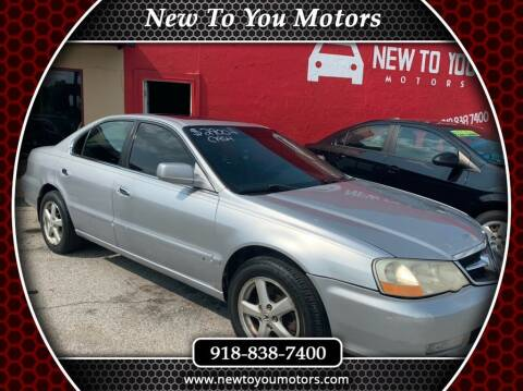 2003 Acura TL for sale at New To You Motors in Tulsa OK