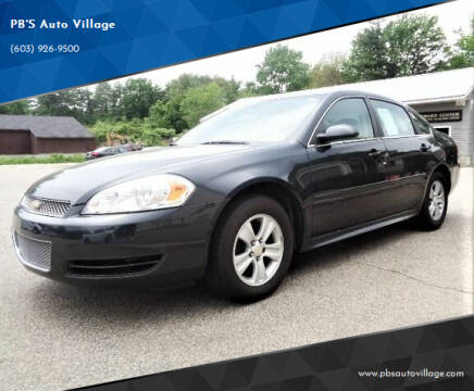 2016 Chevrolet Impala Limited for sale at PB'S Auto Village in Hampton Falls NH