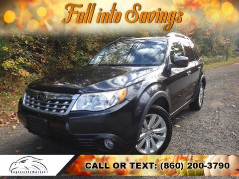 2013 Subaru Forester for sale at EAGLEVILLE MOTORS LLC in Storrs Mansfield CT