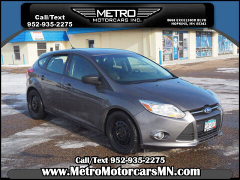 2012 Ford Focus for sale at Metro Motorcars Inc in Hopkins MN
