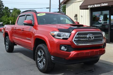 2017 Toyota Tacoma for sale at Nick's Motor Sales LLC in Kalkaska MI