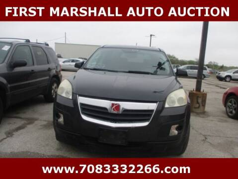 2007 Saturn Outlook for sale at First Marshall Auto Auction in Harvey IL