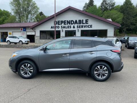 2017 Nissan Murano for sale at Dependable Auto Sales and Service in Binghamton NY