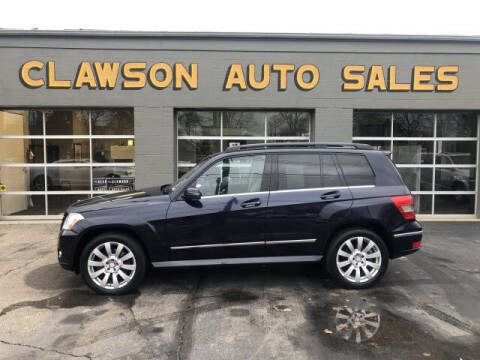 2010 Mercedes-Benz GLK for sale at Clawson Auto Sales in Clawson MI