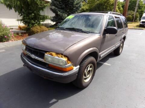2000 Chevrolet Blazer for sale at Signature Auto Sales in Bremerton WA