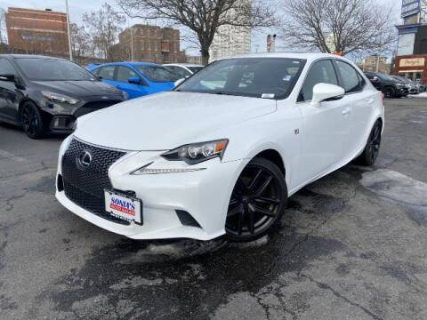 2014 Lexus IS 250 for sale at Sonias Auto Sales in Worcester MA