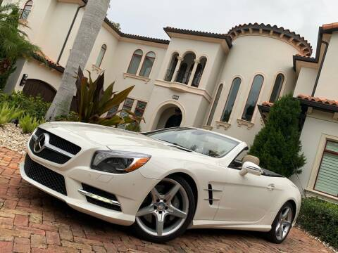 2014 Mercedes-Benz SL-Class for sale at Mirabella Motors in Tampa FL