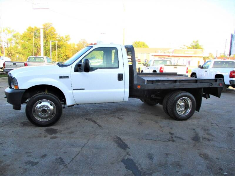 2002 Ford F-550 Super Duty for sale at Steffes Motors in Council Bluffs IA