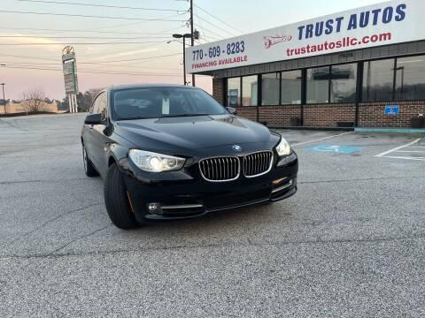 2013 BMW 5 Series for sale at Trust Autos, LLC in Decatur GA