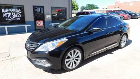 2016 Hyundai Azera for sale at Mid Kansas Auto Sales in Pratt KS