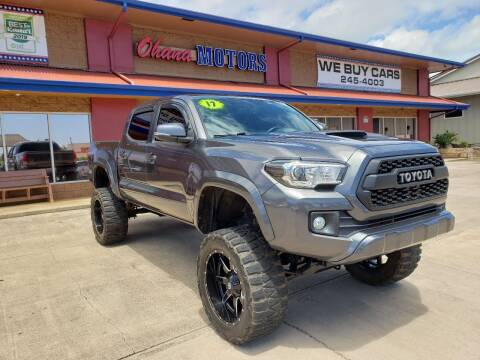 2017 Toyota Tacoma for sale at Ohana Motors in Lihue HI