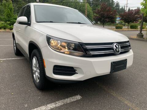 2013 Volkswagen Tiguan for sale at CAR MASTER PROS AUTO SALES in Lynnwood WA