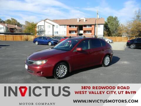 2011 Subaru Impreza for sale at INVICTUS MOTOR COMPANY in West Valley City UT