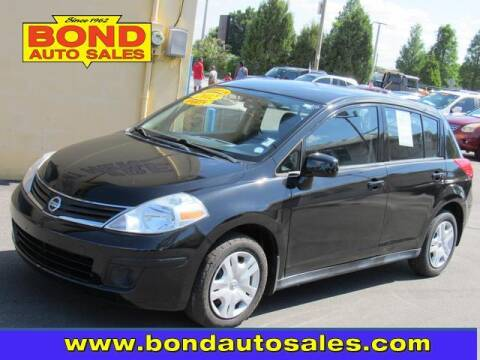 2012 Nissan Versa for sale at Bond Auto Sales in St Petersburg FL