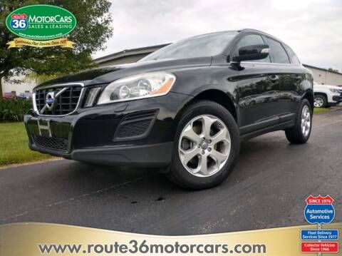2013 Volvo XC60 for sale at ROUTE 36 MOTORCARS in Dublin OH