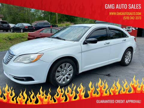 2013 Chrysler 200 for sale at GMG AUTO SALES in Scranton PA