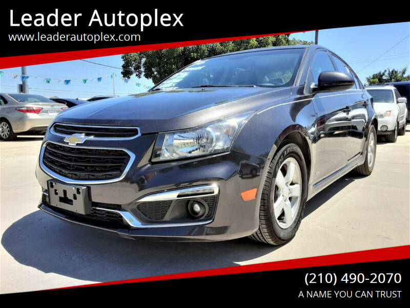 2016 Chevrolet Cruze Limited for sale at Leader Autoplex in San Antonio TX