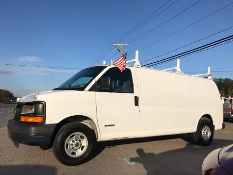 2003 Chevrolet Express Cargo for sale at Mega Autosports in Chesapeake VA