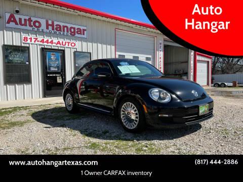 2013 Volkswagen Beetle for sale at Auto Hangar in Azle TX