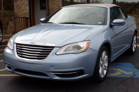 2012 Chrysler 200 Convertible for sale at Rogos Auto Sales in Brockway PA