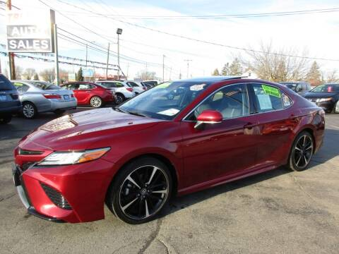 2018 Toyota Camry for sale at TRI CITY AUTO SALES LLC in Menasha WI