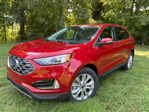 2021 Ford Edge for sale at Kenny Vice Ford Sales Inc - New Inventory in Ladoga IN