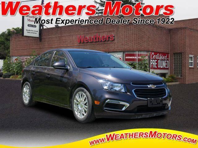2016 Chevrolet Cruze Limited ECO Auto