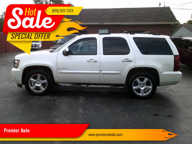 2008 Chevrolet Tahoe for sale at Premier Auto in Independence MO