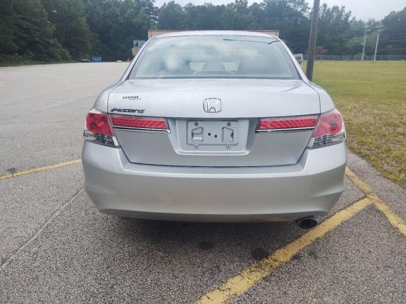 2012 Honda Accord LX 4dr Sedan 5A - Mableton GA
