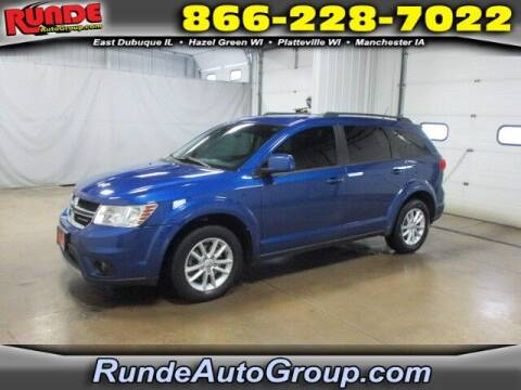 2015 Dodge Journey for sale at Runde PreDriven in Hazel Green WI