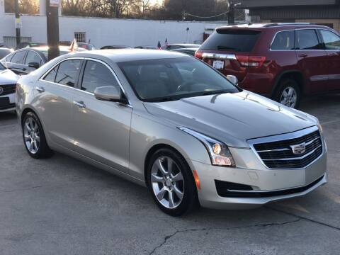 2015 Cadillac ATS for sale at Safeen Motors in Garland TX