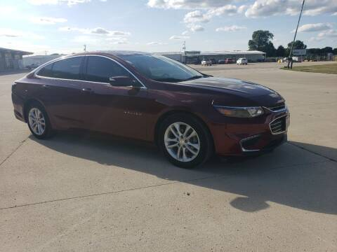 2016 Chevrolet Malibu for sale at BROTHERS AUTO SALES in Eagle Grove IA