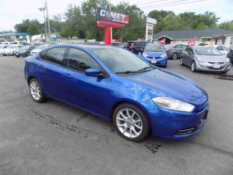 2013 Dodge Dart for sale at Comet Auto Sales in Manchester NH