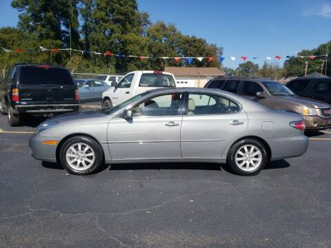 2003 Lexus ES 300 for sale at A-1 Auto Sales in Anderson SC