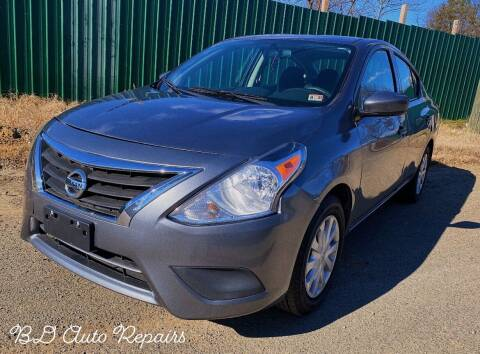 2016 Nissan Versa for sale at BD Auto Sales in Richmond VA
