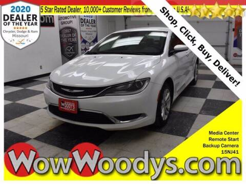 2015 Chrysler 200 for sale at WOODY'S AUTOMOTIVE GROUP in Chillicothe MO