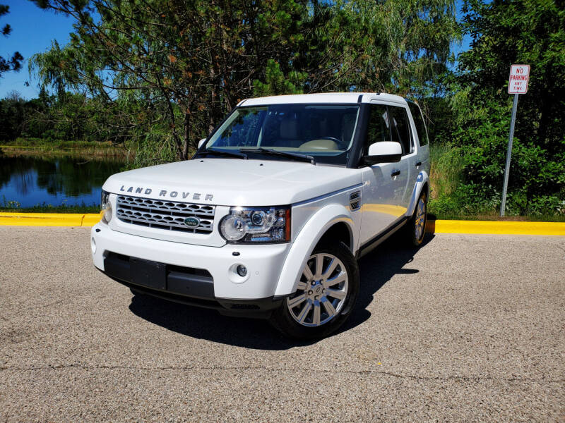 2012 Land Rover LR4 for sale at Excalibur Auto Sales in Palatine IL