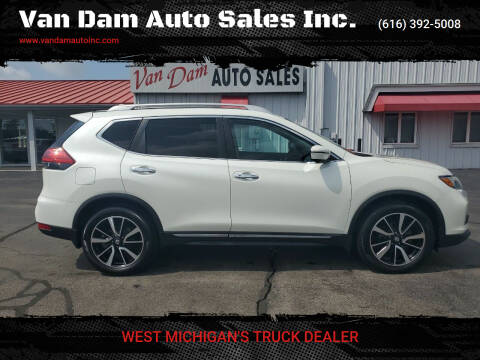 2017 Nissan Rogue for sale at Van Dam Auto Sales Inc. in Holland MI