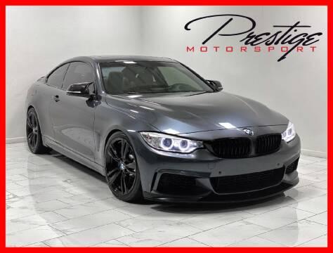 2015 BMW 4 Series for sale at Prestige Motorsport in Rancho Cordova CA