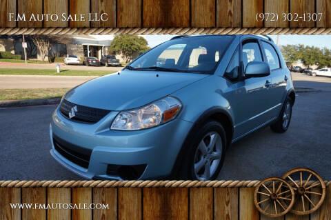 2009 Suzuki SX4 Crossover for sale at F.M Auto Sale LLC in Dallas TX