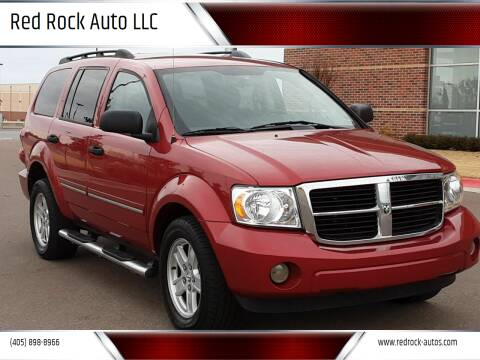 2009 Dodge Durango for sale at Red Rock Auto LLC in Oklahoma City OK