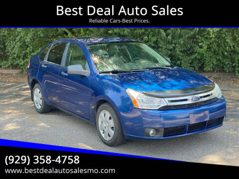 2009 Ford Focus for sale at Best Deal Auto Sales in Saint Charles MO