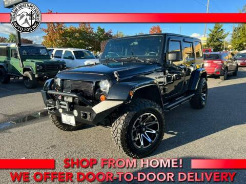 2012 Jeep Wrangler Unlimited for sale at Auto 206, Inc. in Kent WA
